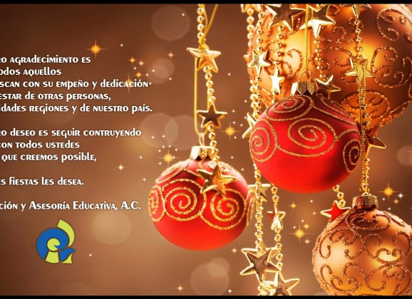 Felices Fiestas les desea IAE