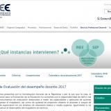 Modelo de Evaluación del desempeño docente 2017