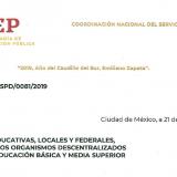 Lineamientos para la admisión, promoción y reconocimiento docente