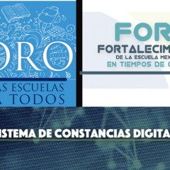 Descarga de Constancias Digitales Foros CdMx y Cancún