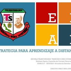 ESTRATEGIA DE UN DIRECTOR DE TELESECUNDARIA DE VERACRUZ EN LA CONTINGENCIA SANITARIA