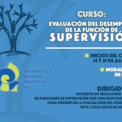 Curso: Evaluación del Desempeño de la Función de Supervisión